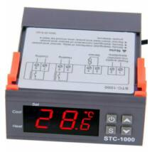 STC-1000F hőmérséklet szabályzó kontroller