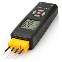 4 Csatornás K-Típusú ipari digitális hőmérő C típus