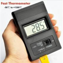 Ipari K típusú Digitális hőmérő