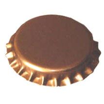 Nagy méretû 29mm-s söröskupak aranyszinû 50db