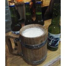 Tölgyfa sörös korsó