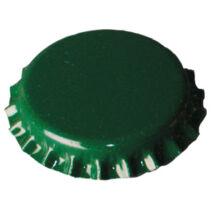 Nagy méretû 29mm-s söröskupak Zöld 20db