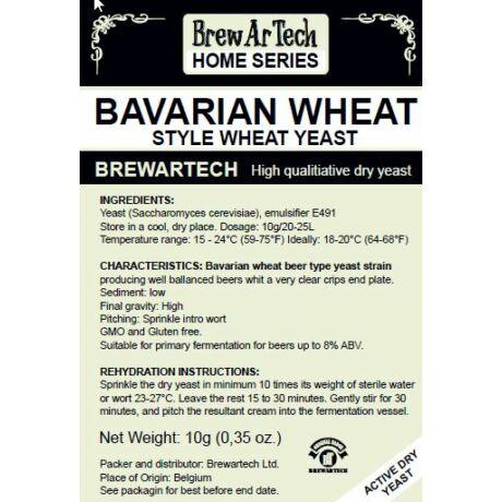 Brewartech Bavarian Wheat Búzasörélesztő