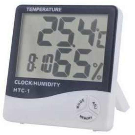 Óra , Hőmárő és Páratartalommérő B Type