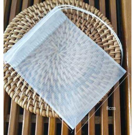 Többször használható Komló, Tea, Kávé filter 8x12cm 8db.