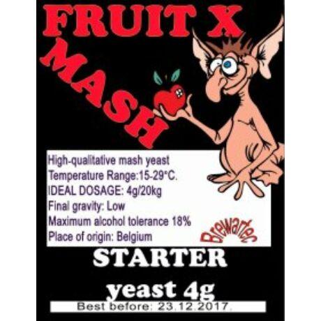 FRUIT X Gyümölcscefre Fajélesztõ 4gr