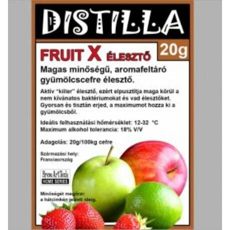 DISTILLA FRUIT X Gyümölcscefre élesztõ 20gr