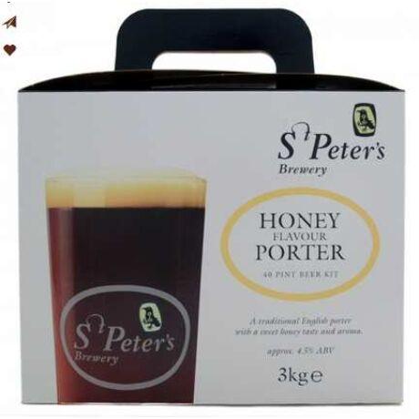 St. Peters Honey Porter sörsűrítmény 3kg