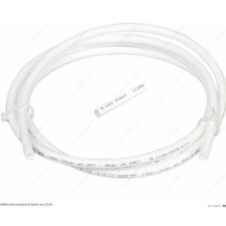 Teflon bevonatos 9,5mm-es  műanyag cső 1 méter