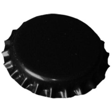 Nagy méretû 29mm-s söröskupak Fekete 20db